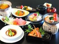 和食会席イメージ(季節や仕入れ状況によりメニューは変わります)