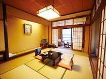 客室の一例 ※お部屋の広さは人数に合わせてご用意致します。