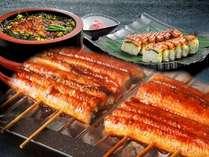 【超食べ放題7~8月】炭火うなぎ三昧☆蒲焼き・棒寿司・ひつまぶしのバリエーションでお楽しみ下さい♪