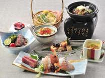 *【夕食イメージ】こだわりの食材を使って一品一品真心こめて!北海道の食材をご堪能ください。