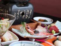 *【ご夕食 一例】~北海道のこだわりの食材を使って一品一品真心こめてお作り致します~