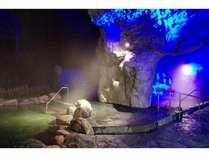 青の洞窟温泉・秋