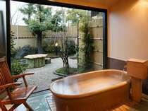 露天風呂付き客室(202号室[水仙])メゾネットタイプ