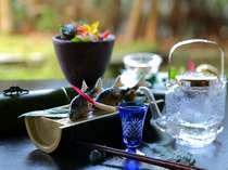 【夏のお料理一例】旬を味わう口福を。