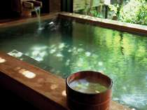 貸切風呂【萬葉の湯】 朝