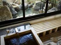 専用大庭園付き離れ貴賓室(101号室[福禄寿])古代檜の露天風呂