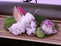 【鱧酢の物】2011年初夏 じゃらん高級宿ランキング1位記念の特別料理!