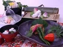 【鱧尽くし会席】2011年初夏 じゃらん高級宿ランキング1位記念の特別料理!