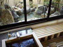 貴賓室(101号室[福禄寿])坪庭付き露天風呂