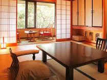 メゾネットタイプ客室の和室よりイメージ