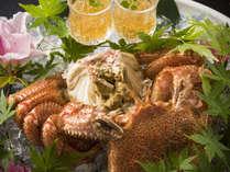 県内産の毛蟹は初夏限定の味!