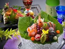 【定番】お料理評価5つ星~旅亭萬葉の基本プラン『極み懐石』~旬を追いかける季の食彩