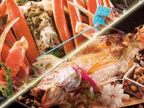 加能蟹とのどぐろの美味しさの共演をお楽しみください。