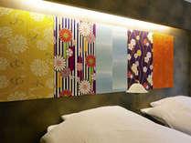 着物で彩られたマウンテンビュー和洋室:一例