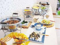 【ご朝食】和洋バイキング(7:00~9:00)