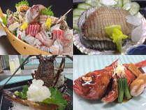 ◆お魚大好き♪♪ ☆新鮮な房州海老・あわび・お刺身だけの ☆豪華な少食☆