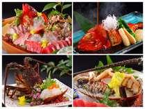 ホントに美味しい☆本物のお刺身・房州海老・あわびだけ☆こだわりの【豪華な少食】冷凍モノは使いません☆