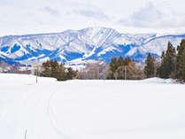 *景観/当館から戸狩温泉スキー場のペガサスゲレンデまで、滑って5分!
