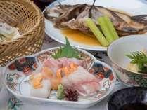 *【夕食一例】宮津近海で水揚げされる新鮮な海の幸!