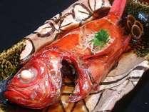 伊豆の味覚の王 金目姿煮付きプラン