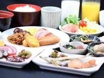 ☆豆富が自慢の和洋50種類の朝食バイキング付きプラン♪早朝6:30~営業♪