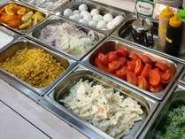 朝食バイキング サラダバー