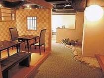 地下1階の日本料理「かわむら」