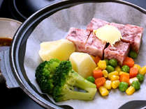 【夕食一例】とちぎ和牛のステーキはとろける美味しさ