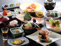 【旬彩会席グレードアッププラン】~上山田の薫る湯情と信州の味を楽しむ~