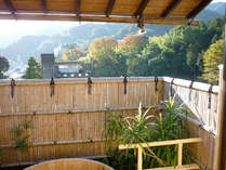 露天風呂からの風景