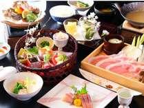 【スタンダード会席プラン一例】信州・塩田平の地元食材と季節の味覚を味わえるお手軽会席