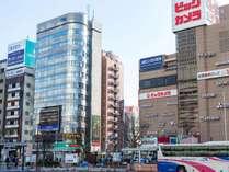 「三交イン名古屋新幹線口ANNEX」も近くにございます(左手)
