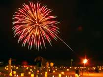 【メッセージ花火】大切な人への音声メッセージとともに花火が打上がります。