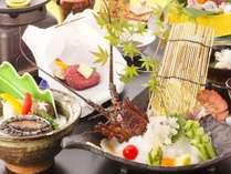 【しらら優雅会席/お部屋食】伊勢海老お好み料理を中心に、贅を尽くした会席料理