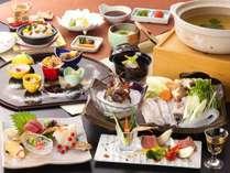 【クエ大鍋会席】クエの旨みを存分に味わう大鍋料理