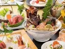【お部屋食/しらら優雅会席】伊勢海老お好み料理を含む特別会席料理