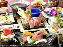 【熊野牛会席】和歌山特産和牛「熊野牛」と海の幸を愉しむ夕食