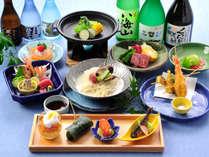 2018年夏の和食膳一例