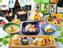 2019年夏の和食膳一例