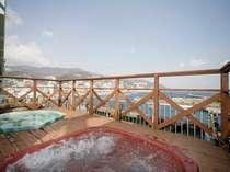 熱海湾一望の絶景展望風呂(ジャグジー)