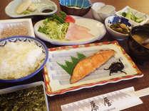 *【朝食例】栄養バランスの取れた食事を食べて、朝から元気いっぱい!
