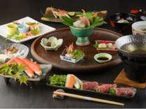 【加賀の特選美味三昧】3大食材が織りなす秋の美食を堪能!≪のどぐろ&ズワイ蟹&A4能登牛≫
