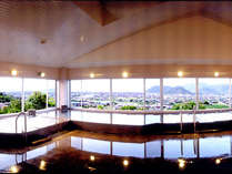 ~天然温泉~『城山長者の湯』絶景!瀬戸を一望する大展望風呂。