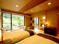 当館1室限定、BT付、温泉に入浴できる特別室です。