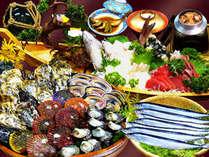 ○ちょっと涼しいお食事処に場所変更○【祝い魚プラン】 海女小屋体験スタンダードプラン