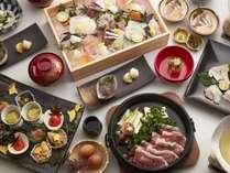 【2019秋】うららかスタンダードプラン夕食イメージ