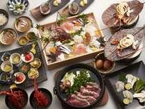 【2019秋】うららか特上プラン夕食イメージ