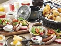 TERRACE DINER 朝食(パンブッフェ&セットメニュー)