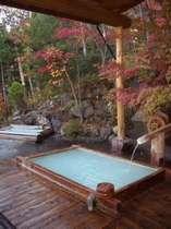 オオナー手作りの露天風呂