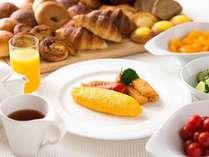 朝食ブッフェは毎朝できたてをご用意しております。